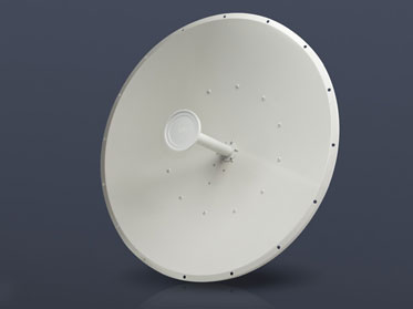 Pair the RocketDish™ with a Rocket™M BaseStation for Point‑to‑Point (PtP) bridging and network backhauls.